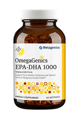 OmegaGenics EPA-DHA 1000 by Metagenics