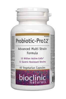Probiotic-Pro 12 by Bioclinic Naturals
