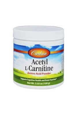 Acetyl L-Carnitine - Powder by Carlson Labs