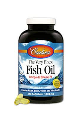 Norwegian Fish Oil by Carlson Labs