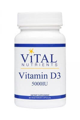 Vitamin D3 5000iu by Vital Nutrients