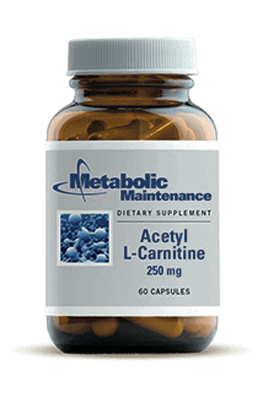 Acetyl L-Carnitine by Metabolic Maintenance