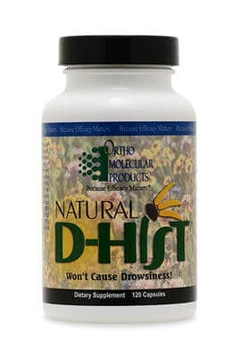 Natural D-hist by Ortho Molecular Products