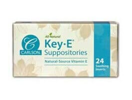 Key-E Suppositories by Carlson Labs
