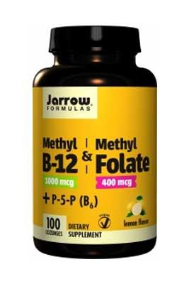 Methyl B-12 & Methyl Folate by Jarrow Formulas