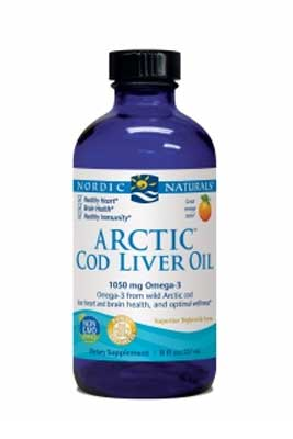 Arctic Cod Liver Oil by Nordic Naturals
