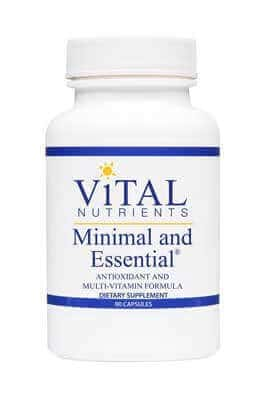 Minimal & Essential by Vital Nutrients