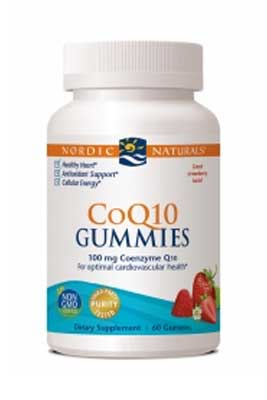 CoQ10 Gummies by Nordic Naturals