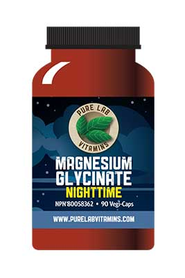 Magnesium Glycinate Nighttime by Pure Lab Vitamins