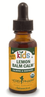 Kids Lemon Balm Calm-HerbPharm