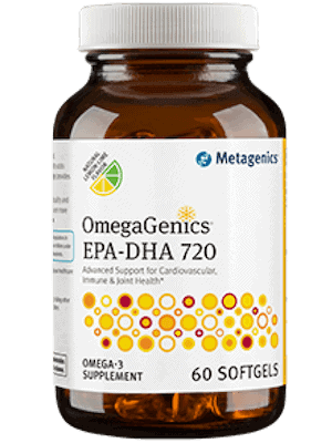 OmegaGenics EPA-DHA 720 Metagenics