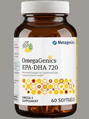 OmegaGenics EPA-DHA 720 Metagenics