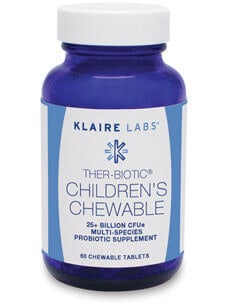 Ther-Biotic Children's Chewable Klaire Labs