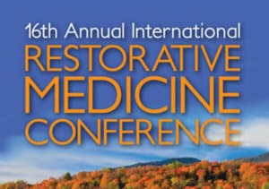 Restorative Medicine conference