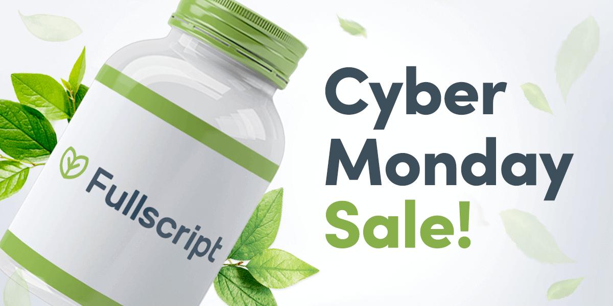 Fullscript Cyber Monday USA deal
