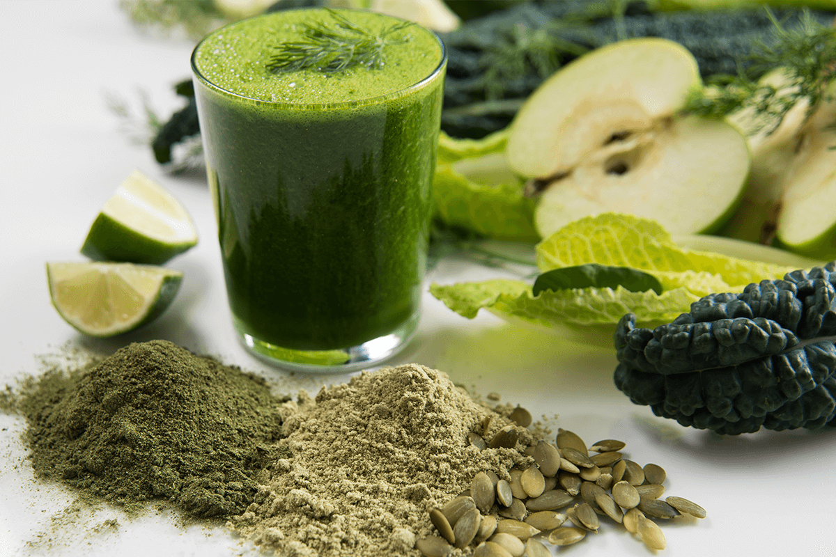 Supplements in powder form