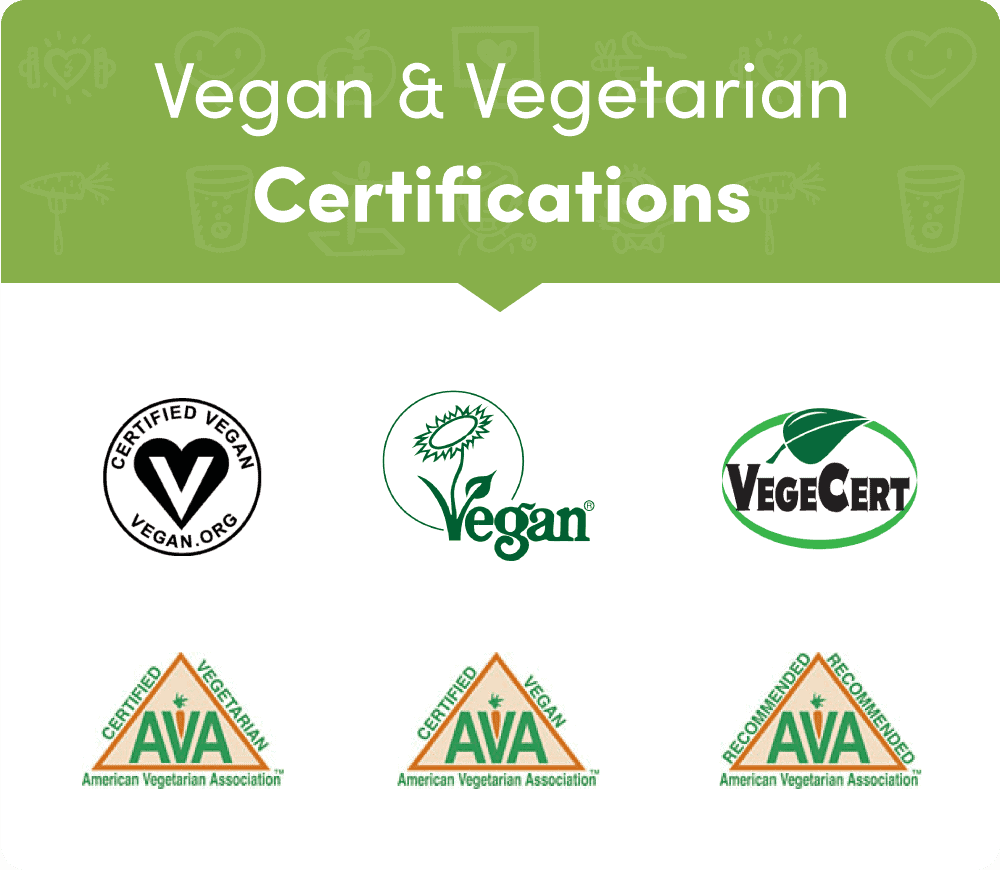 logo of all vegan certifications