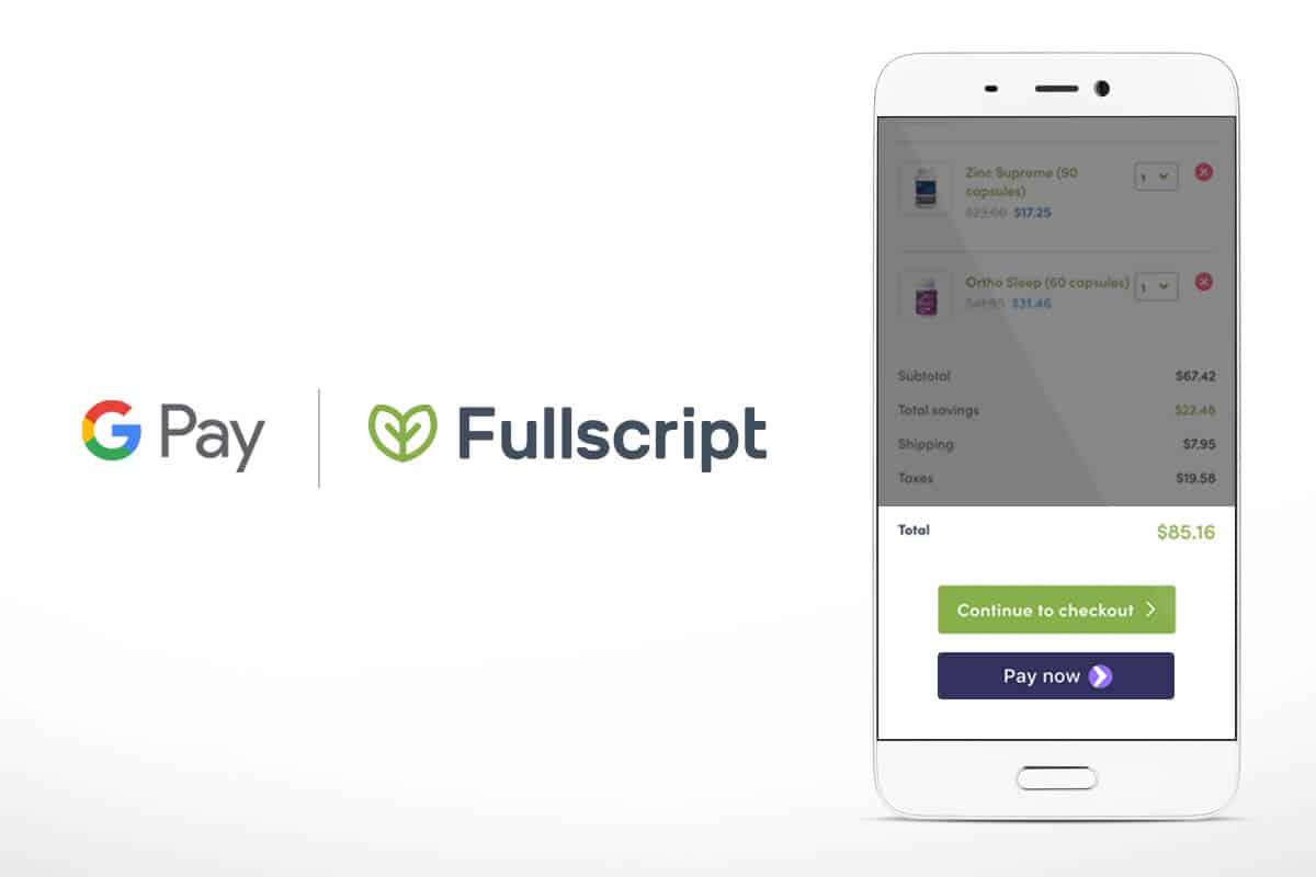 google pay on Fullscript