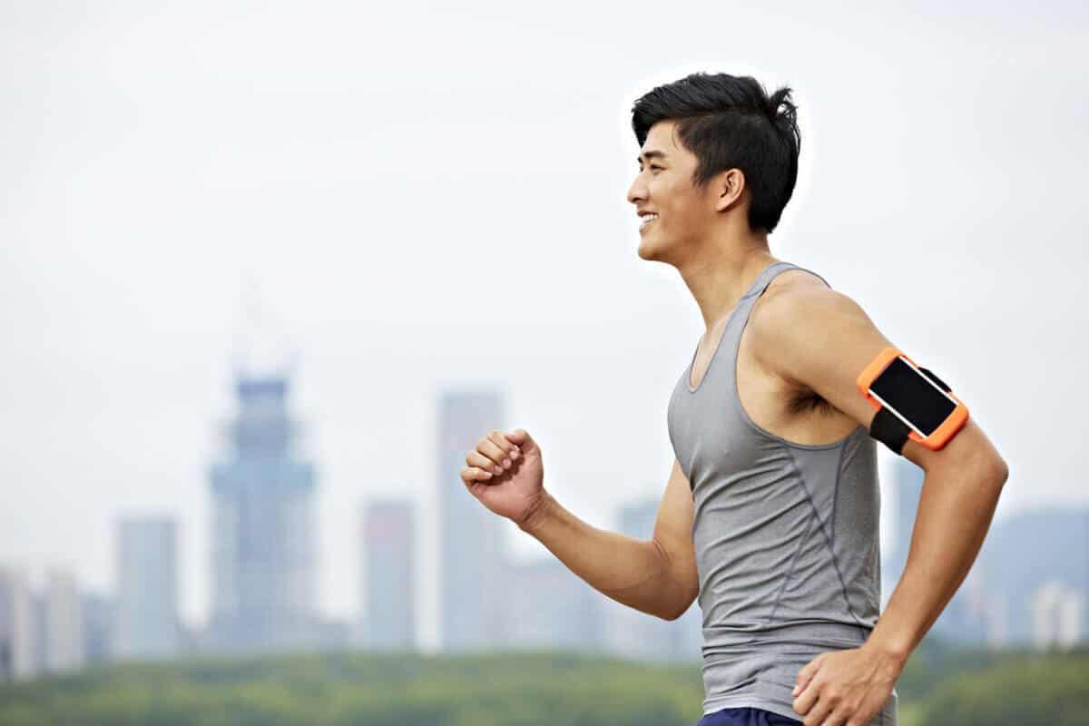 ran running outdoors