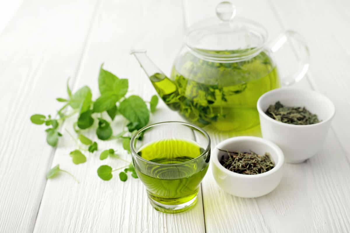Image of L-theanine and green tea
