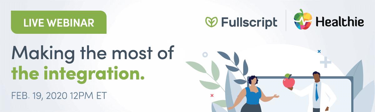 healthie and fullscript integration illustration