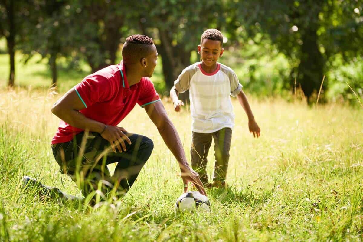 Image of kids exercising