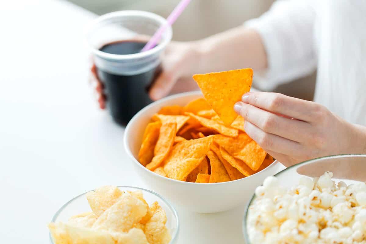 Image of low-nutrient junk food
