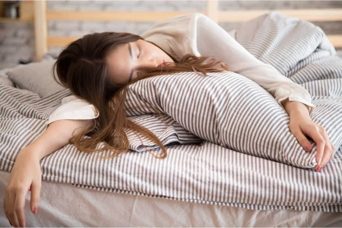 Image of woman sleeping