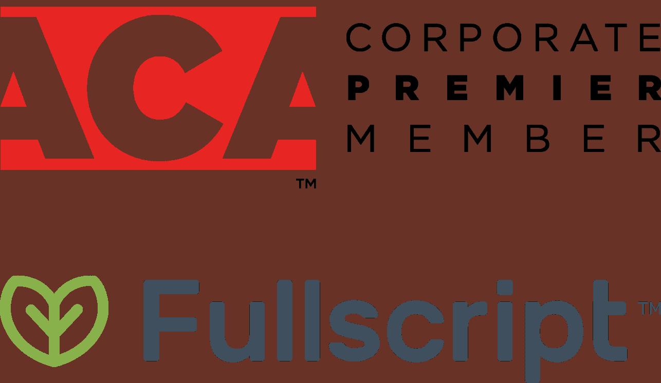 fullscript-aca-logos