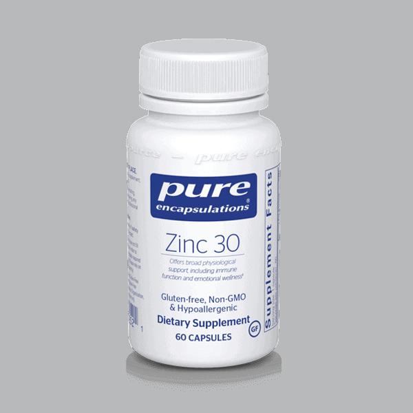 Pure Encapsulation Zinc