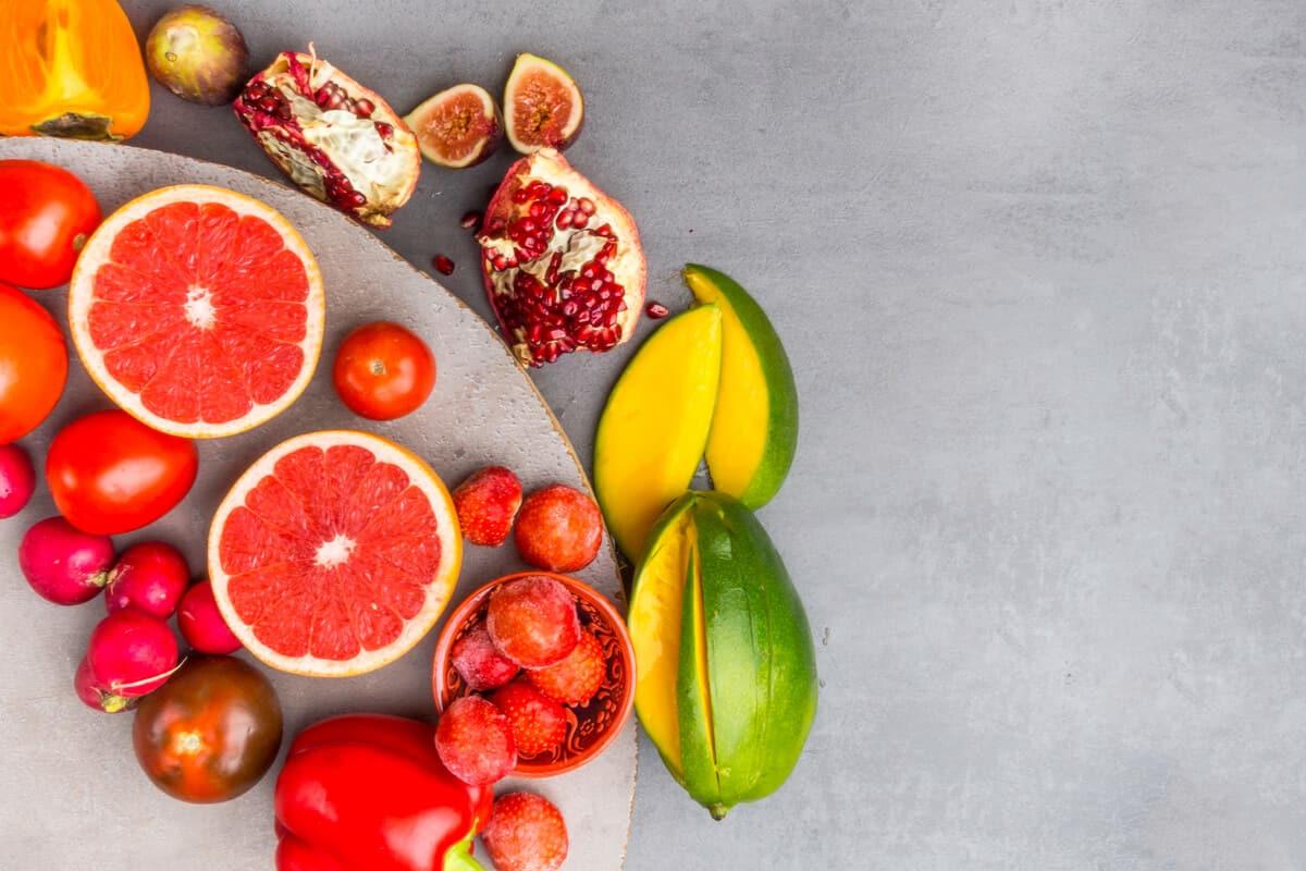 Carotenoid foods
