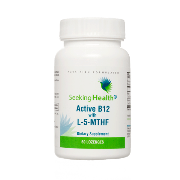 Seeking Health Active B12 with L-5-MTHF