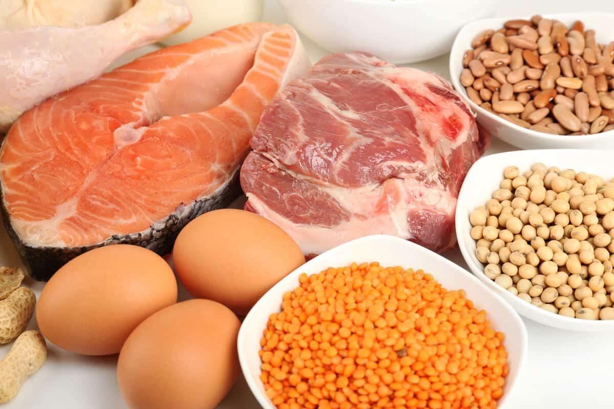 Seafood and legume based foods.