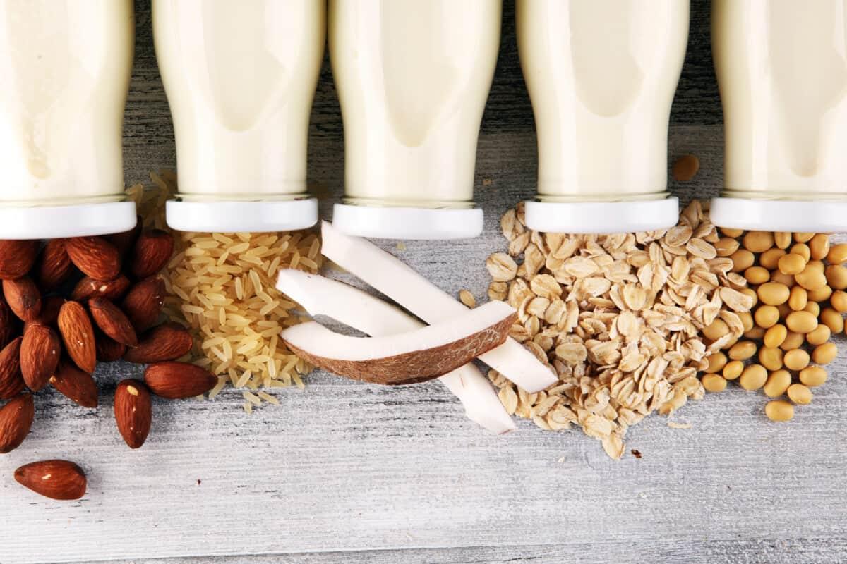 Non-dairy milk alternative products