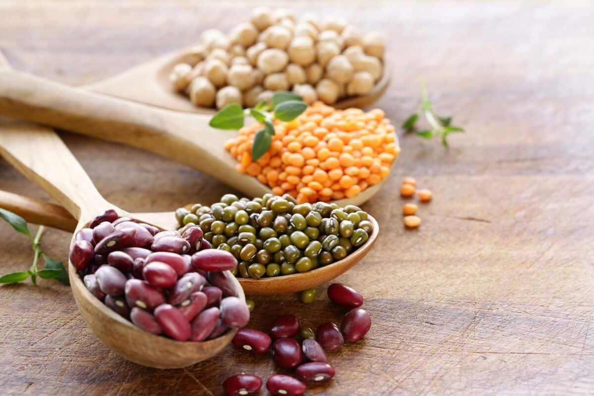 Assortment of legumes