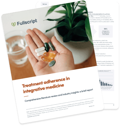 Treatment adherence whitepaper cover